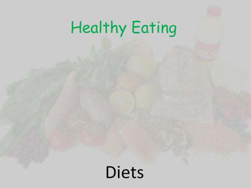 Healthy eating balanced diet powerpoint by geminski