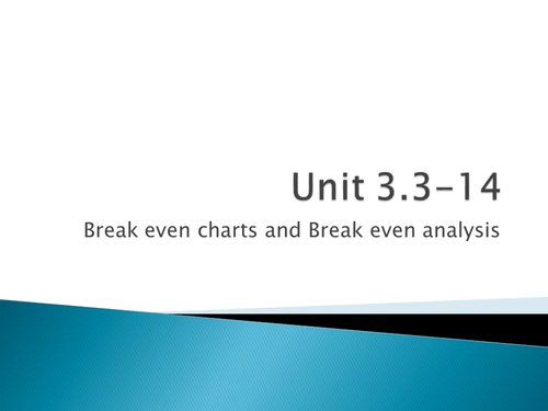 Edexcel unit 3 Business studies