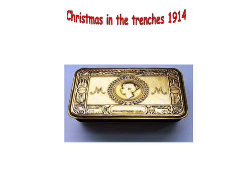 christmas in the trenches essay
