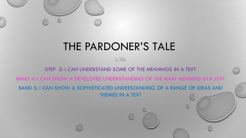 The Pardoner's Tale- Chaucer's Prolog