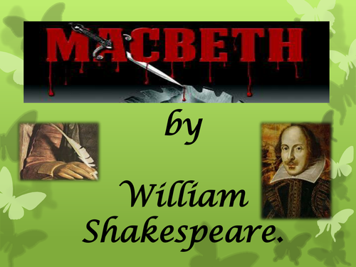The story of Macbeth. Simpler format ideal for KS2 or KS3