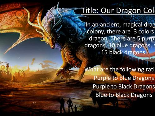 Design-A-Dragon - fun Ratio & Proportion lesson!