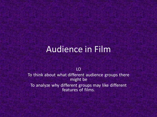 Types of Film Audience