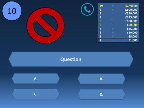 Who wants to be a millionaire template by kemple88 teaching who wants to be a millionaire template by kemple88 teaching resources tes toneelgroepblik Gallery