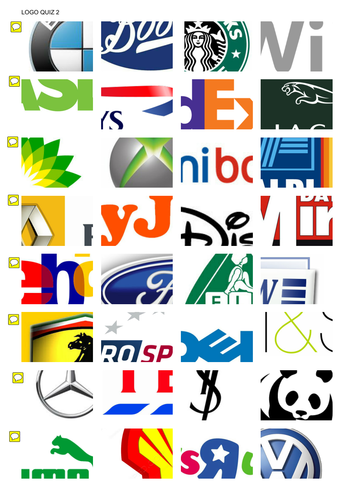 the ultimate logo quiz by tufty23 teaching resources tes