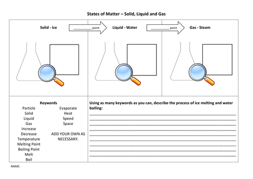 Worksheets States Of Matter Worksheet states of matter worksheet particle model by lewistull teaching resources tes