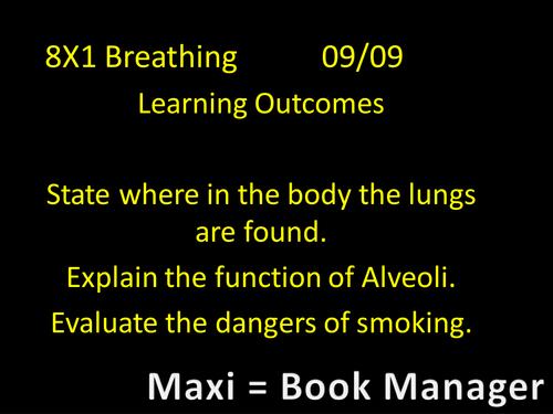 Breathing Year 8 Science Works 2