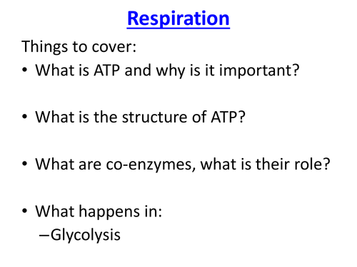 Respiration glycolysis atp ppt exam questions by respiration glycolysis atp ppt exam questions by elevateeducation teaching resources tes ccuart Gallery
