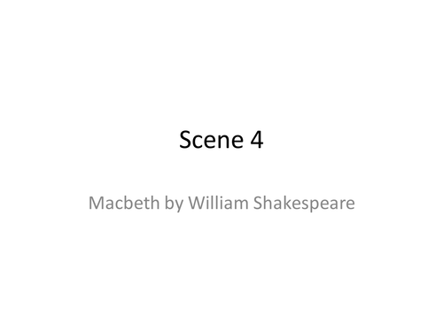 Macbeth appearances are deceiving essay