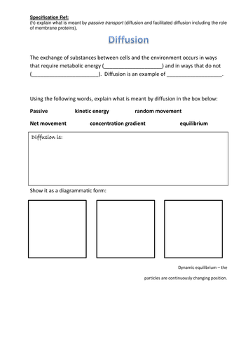 Printables Passive And Active Transport Worksheet passive and active transport worksheet abitlikethis review summary by cmrcarr uk teaching