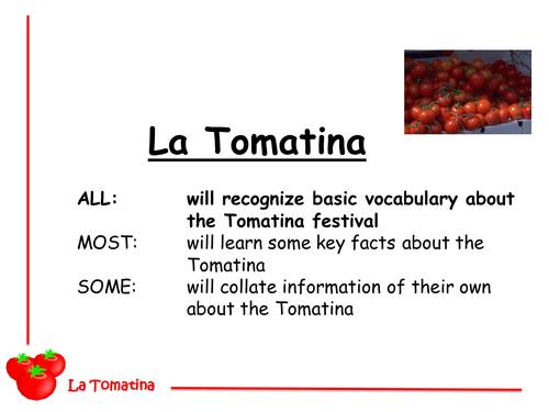Tomatina (Spanish tomato festival)