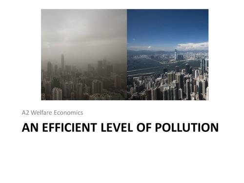 Environmental market failure