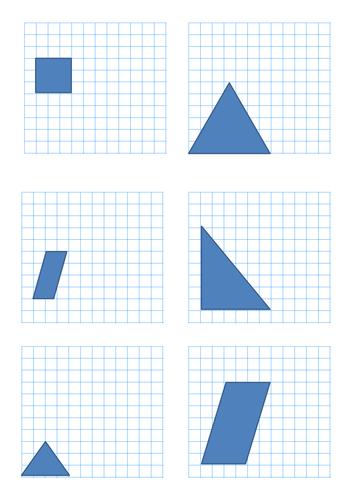 All Worksheets » Enlargement And Reduction Worksheets - Printable ...