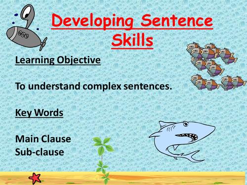 Commas and Complex Sentences