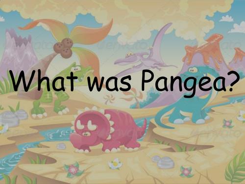 Dinosaurs Pangaea Break Up PowerPoint KS1