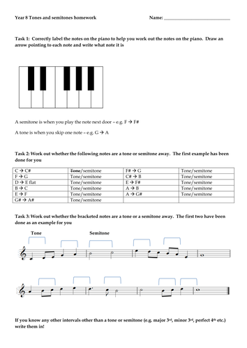 tone semitone worksheet by cbmusic88 uk teaching resources tes. Black Bedroom Furniture Sets. Home Design Ideas