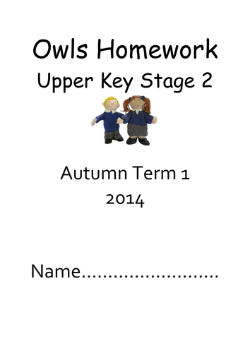 Autumn Story Starts for KS1 or Lower KS2 by teachercellar