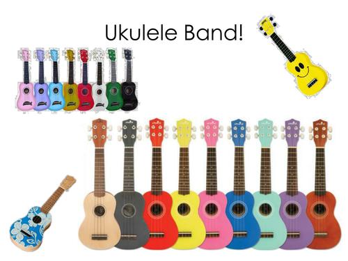 Somewhere Over The Rainbow For Ukuleles By Bekkimusic Teaching