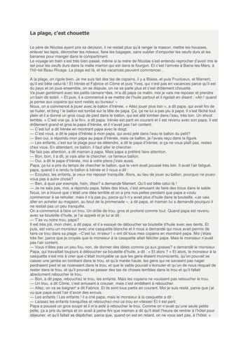 Le petit Nicolas book and grammar study