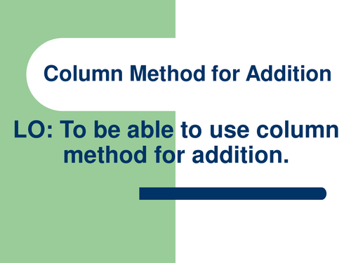 YEAR 3 COLUMN ADDITION WORD PROBLEMS by abegum5002 Teaching – Column Addition Worksheets
