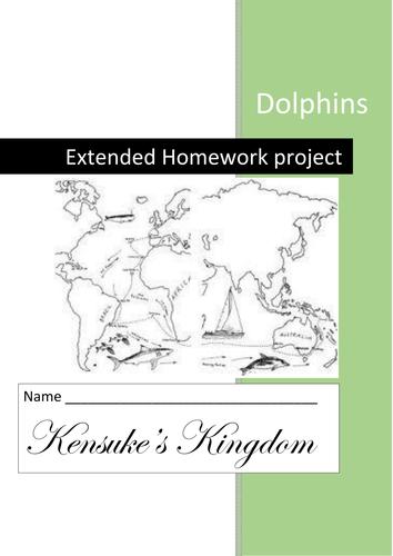 Kensuke's Kingdom complete workbook