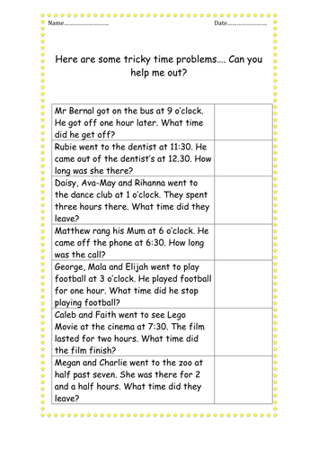y6 time word problems by kayld teaching resources tes. Black Bedroom Furniture Sets. Home Design Ideas