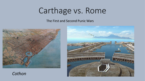 First and Second Punic Wars