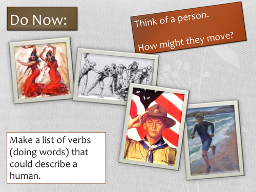 Year 7: Poetry SoW -  Lesson 2