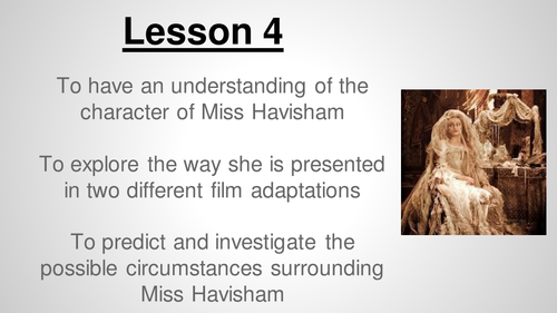 an analysis of miss havishams madness essay Here is a detailed analysis of her character seen via lines from we can decipher the reasons behind her madness miss havisham.