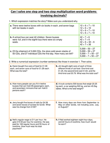 multiplication word problems decimals year 5 by hazelybell teaching resources tes. Black Bedroom Furniture Sets. Home Design Ideas