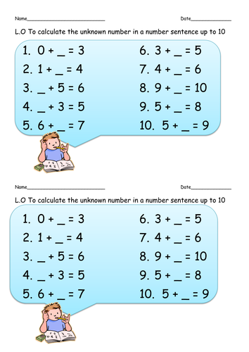 Chalk and Number lines - Teaching Resources - TES