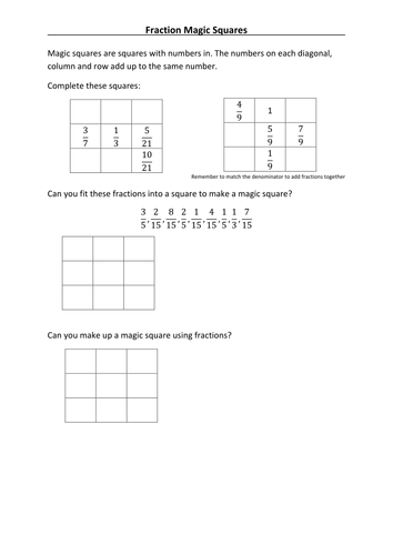 extension fractions worksheet by wbn uk teaching resources tes. Black Bedroom Furniture Sets. Home Design Ideas