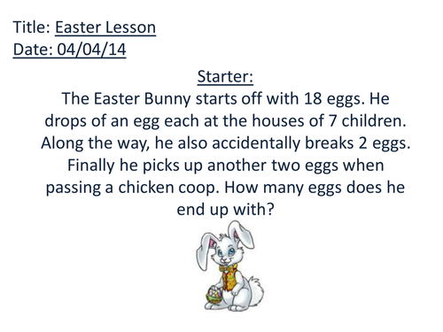 Times Tables Easter Egg Hunt! by CaptainLoui - Teaching Resources - Tes