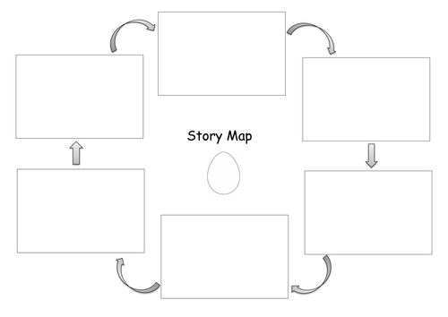 Story map template by jodieclayton teaching resources tes for Story planner free