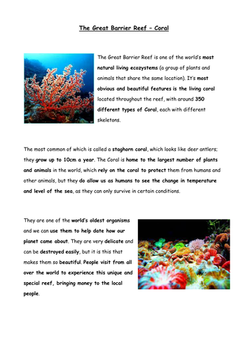 persuasive dissertation about coral reefs reefs