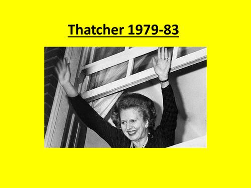 Thatcher 1979-83