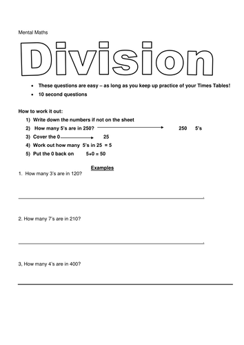 year 6 division worksheets by krisgreg30 teaching resources tes. Black Bedroom Furniture Sets. Home Design Ideas