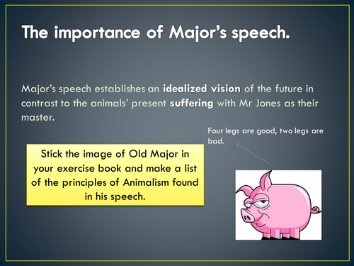 Year 11 Animal Farm - Lesson 5