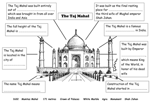 Taj mahal a wonder of the world. Ppt video online download.