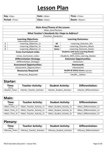 5e Instructional Model Science Lesson Plans