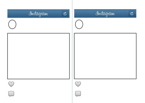 free instagram template - instagram template by eilidhpie teaching resources tes