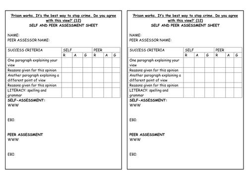 GCSE Citizenship Practice Question on Prisons