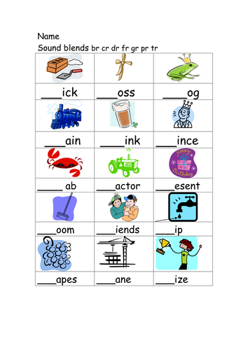 Initial blend and phoneme worksheets by annhatton - Teaching ...