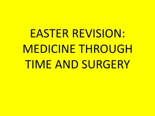 Medicine Revision Booklet