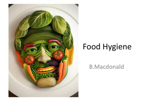 Food hygiene powerpoint lesson plan by bonnita teaching for Hygiene cuisine