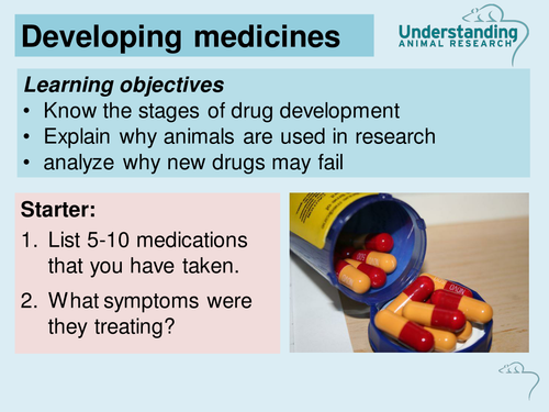 Developing medicines