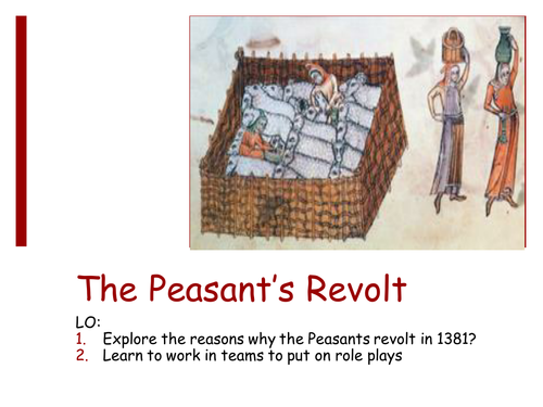 why did the peasants revolt in During the years before the peasants' revolt of 1381, relations between the landed gentry and the lower classes of society were extremely poor.