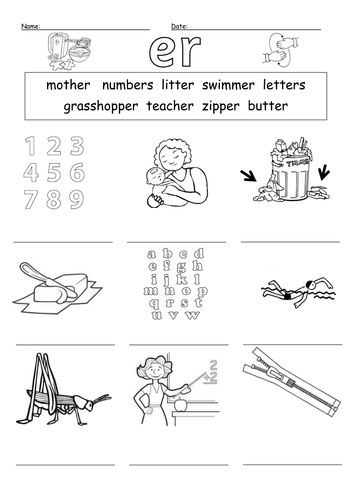 Common Worksheets » Phonics A Worksheet - Preschool and ...