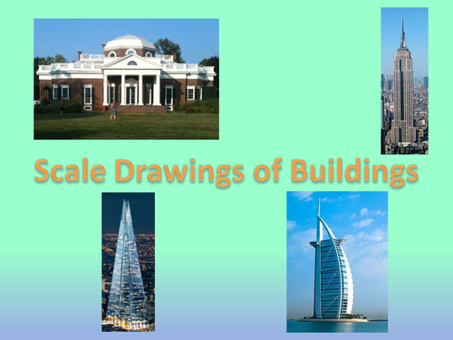 Scale drawings of buildings by owen134866 teaching for Free scale drawing software