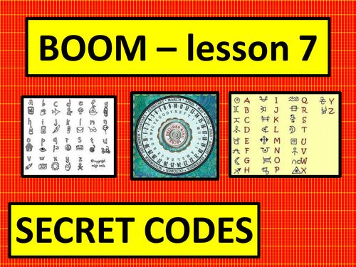 Boom scheme of work - lessons 7-10